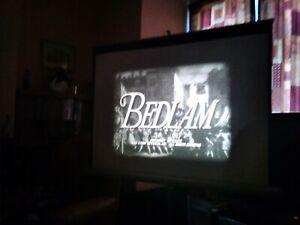 'BEDLAM' ( BORIS KARLOFF HORROR  ) 16MM FEATURE B/W SOUND . RELISTED