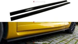 MAXTON DESIGN SIDE SKIRTS DIFFUSERS RENAULT MEGANE 3 RS