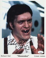 "Richard Kiel Signed Autographed 8X10 Photo Moonraker ""Jaws"" JSA GG06088"