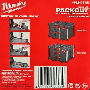 Packout 2 X Universal-Schaumstoffeinlagen to Cut / Einpassen for Drawer