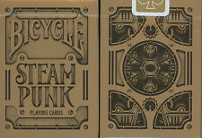1 Deck Bicycle SteamPunk Bronze Standard Poker Playing Cards Brand New Deck