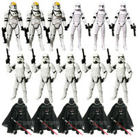 "3.75"" Star Wars Clone Trooper Stormtroopers Darth Vader Action Figure Toys Gift"