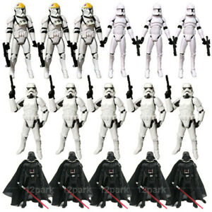 """3.75"""" Star Wars Clone Trooper Stormtroopers Darth Vader Action Figure Toys Gift"""