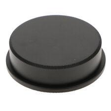 Metal Body Cap and Rear Lens Cap Cover for Leica M39 Lens and Cameras-Black