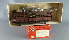Smcf 108 Ho Sncf Wagon Tombereau Claires-Voies Kit à Assembler Neuf Boite Notice