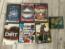 PC Spiele Konvolut, PC Games, GTA, Dirt Frogger, Rennspiel
