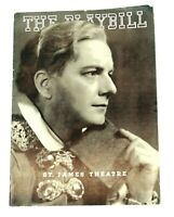 St. James Theatre Playbill 1939 Shakespeare's HAMLET Maurice Evans New York Play
