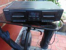 Sony Tc-We305 Dual Double Cassette Tape Deck Recorder