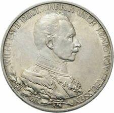Preußen / Wilhelm II. / 3 Mark 1913 A  25. Regierungsjubiläum  900 Silber #19vvv
