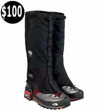 New The North Face Boot GORE-TEX GAITERS Summit Series SKI Black Sz XL $100