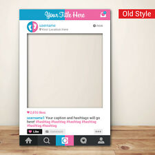 Gender Reveal Baby Shower Instagram Frame (80 x 110 cm) Photo Booth Props