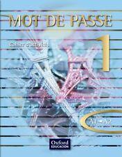 (10).MOT DE PASSE (1) CAHIER.(BACHILLERATO). ENVÍO URGENTE (ESPAÑA)