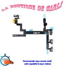 NAPPE FLEX DU BOUTON POWER ON/OFF + VOLUME + VIBREUR pour IPHONE 5 FRANCE