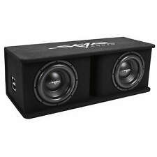 "NEW SKAR AUDIO SDR-2X10D4 DUAL 10"" 2400 WATT LOADED PORTED SUBWOOFER ENCLOSURE"