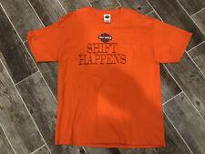 Harley Davidson Shift Happens BRANSON MISSOURI Mens Pocket T-Shirt Size XL