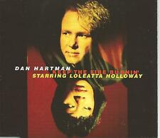 DAN HARTMAN & LOLEATTA HOLLOWAY Keep the Fire Burnin RARE MIXES CD Single SEALED