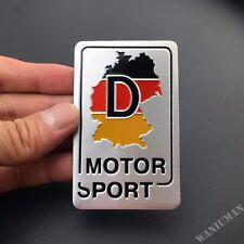 Germany Map Sport Emblem Car Badge Decal Sticker For Audi VW Golf GTI
