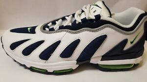 Nike Air Max 96 XX White/Obsidian-Scream Green (870165-100) Men's Size