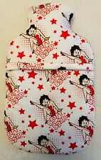 BETTY BOOP~ HOT WATER BOTTLE COVER ~ FREE UK POSTAGE