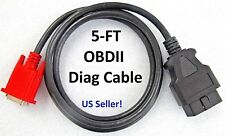 OBD2 OBDII Main Cable for Launch Creader CR 6011 Scanner Code Reader Scan Tool