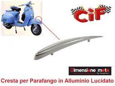 5275 - Cresta Parafango in Alluminio Lucido per Piaggio Vespa 150 VBB1 dal 1960