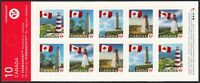 fq. Error = Booklet w/ CORRECTED Image  = BK385 = LIGHTHOUSE Canada 2008 [ec116]