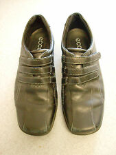 ECCO black leather casual shoes, Women's  6.5 (eur 37)