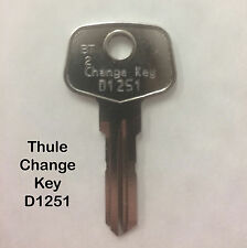 THULE UNIVERSAL CHANGE KEY D1251 FOR REMOVING & REFITTING THULE LOCK CORES
