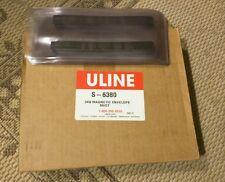 "S-6380 Uline 3""x8"" Magnetic Envelope 20ct"