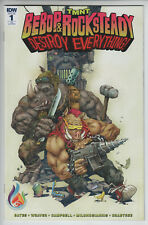 TMNT Bebop and Rocksteady Destory Everything #1 Comics and Ponies Variant NM