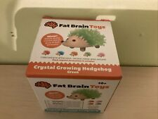 NIB Fat Brain Toys Crystal Growing Hedgehog 2151