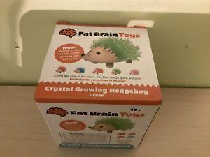 NIB Fat Brain Toys Crystal Growing Hedgehog (2151)