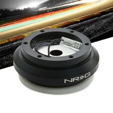 NRG SRK-130H Short Steering Wheel Hub Adapter Black For 02-06 Acura RSX