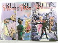 KILLER PRINCESSES # 1,2,3 of 3 komplett ( ONI, englisch )