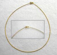 ECHT GOLD *** Omega-Reif Halsreif Kette Collier 40 cm