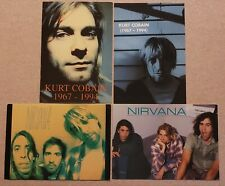 Kurt Cobain Postcards, Nirvana Postcards, In Utero, Nevermind