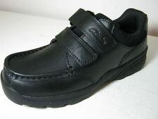 Scarpe nera elegante in pelle per bambini dai 2 ai 16 anni
