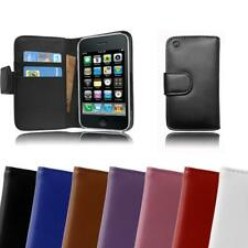 Case for Apple iPhone 3 / 3GS Phone Cover Plain Design Wallet Book