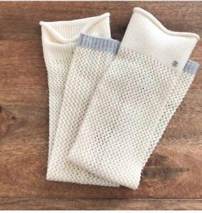 Lululemon Falling Freely Leg Warmers 100% Merino Wool Knit - one size o/s