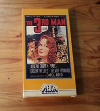 The Third Man (1949) VHS Orson Welles Carol Reed Early Rare Media Release 1982