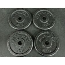 RitFit Set Of 4 8 lb Dumbbell Weight Plates 32lb total*