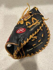 "Rawlings RFM-25BT 11"" Youth Baseball First Base Mitt Right Hand Throw New Black"