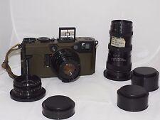 Graflex 70mm US Army Combat-70 Graphic KE-4 complete 3 lens camera outfit. Mint