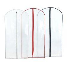 "12 Clear Showerproof Suit Covers Clothes Garment Storage Bags 40"" Hangerworld"