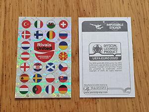 Panini UEFA EURO 2020 Swiss Pearl Edition, Coca Cola, 2 x The Impossible Sticker