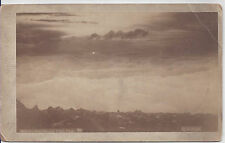 1880s HOOK IMPERIAL CABINET CARD PHOTO SUNRISE FROM PIKE'S PEAK CO SPRINGS CO