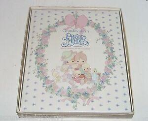 Precious Moments Book Grandmothers Special Memories Baby Grandchild Record NIB
