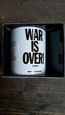 JOHN LENNON - WAR IS OVER - mok/tas/mug/tas - NEW