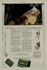 1920 PALMOLIVE SOAP AD / THE BEAUTY SECRET OF CLEOPATRA HIDDEN IN EVERY CAKE....
