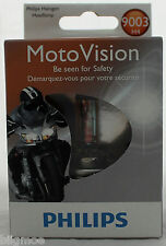 NEW Philips Motor 9003 H4 MotoVision Ducati Harley Yamaha Sport Light Bulb Honda
